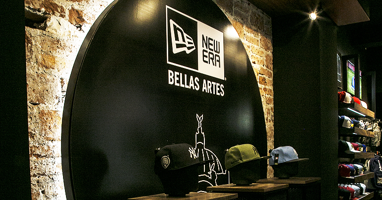 New Era Bellas Artes: Caps On