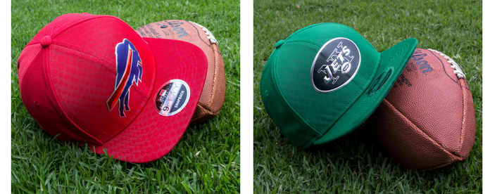 Gorras NFL: Buffalo Bills vs New York Jets