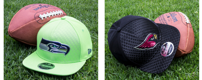 Gorras NFL: Seattle Seahawks vs Arizona Cardinals