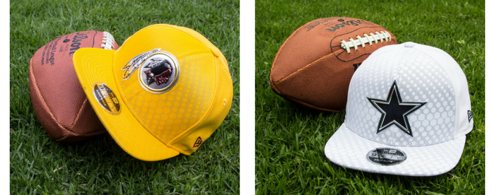Gorras NFL: Washington Redskins vs Dallas Cowboys