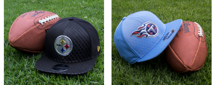 Gorras NFL: Tennessee Titans vs Pittsburgh Steelers