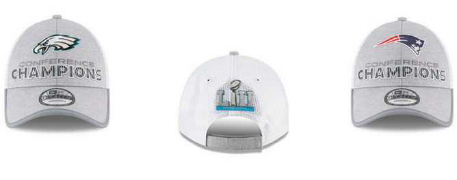 Gorras Campeones de Conferencia NFL New Era