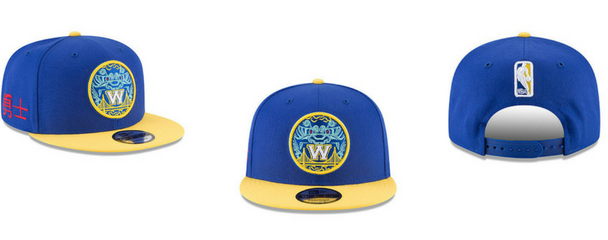 Gorras New Era NBA City Series Golden State Warriors
