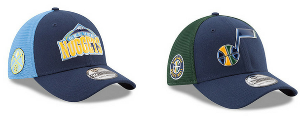 Gorras New Era NBA On Court Denver Nuggets – Utah Jazz