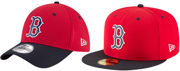 Gorras New Era MLB Spring Training Medias Rojas