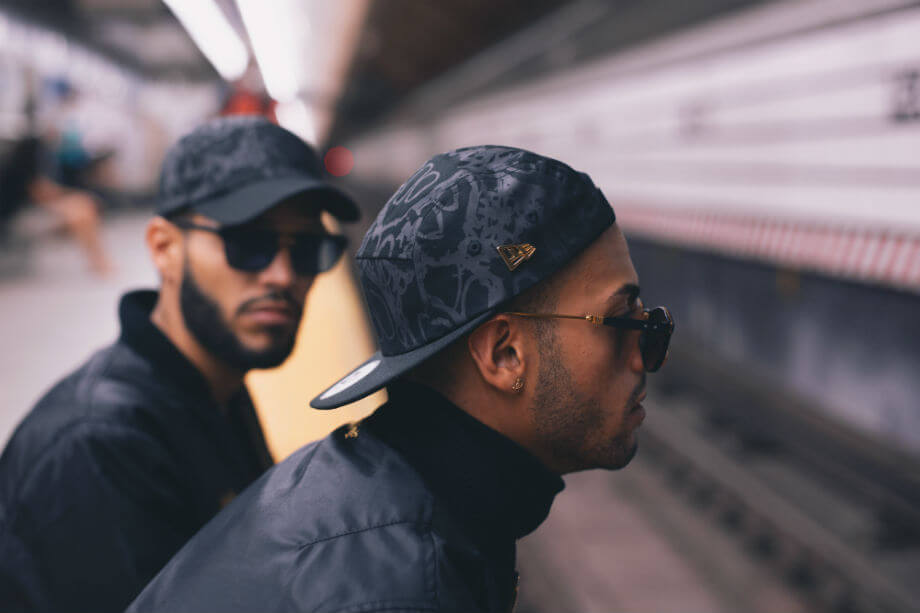 The Martinez Brothers logran perfecto el sport style con las gorras New Era.