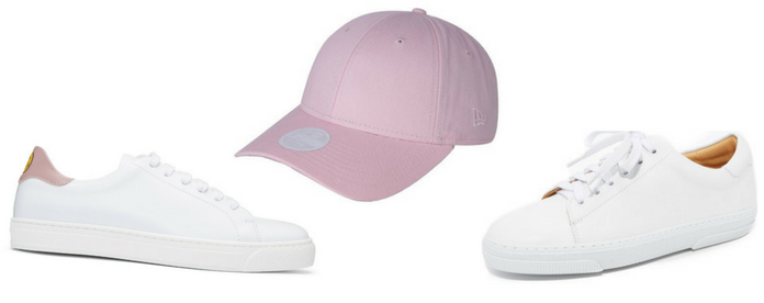 Sneakers low top con gorras New Era