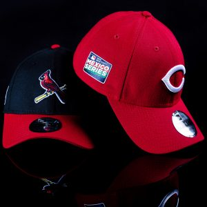 Gorras New Era Mexico Series MLB 2019 Reds vs Cardinals