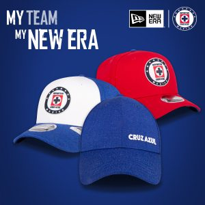 Gorras Cruz Azul New Era