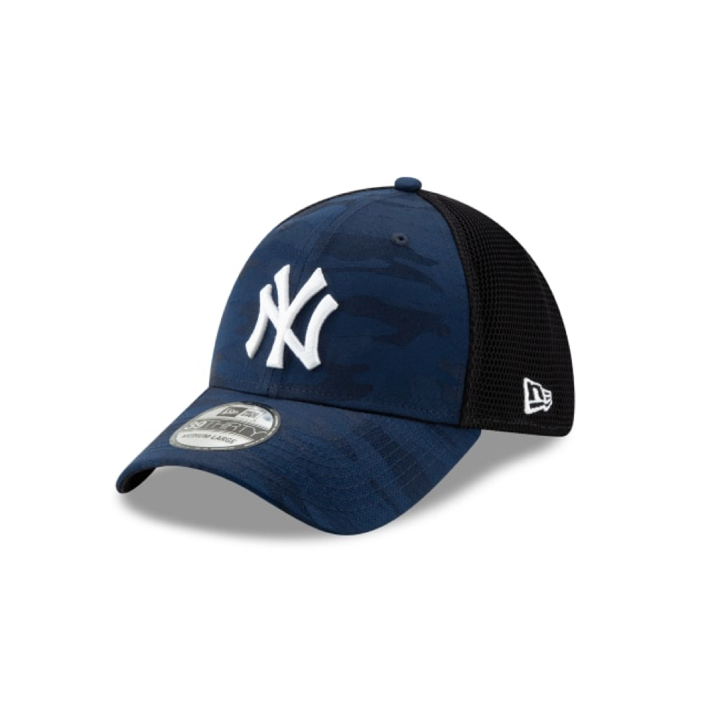 NY Yankees Camo Front 39Thirty