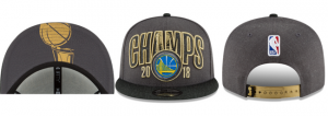 Gorra Warriors campeón NBA 2018