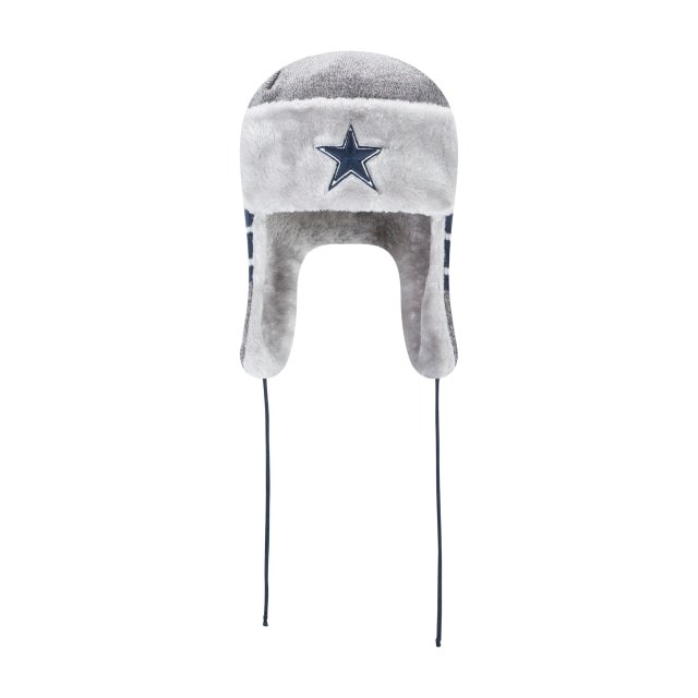 Dallas Cowboys Frosty Trapper  Knit Vista frontal