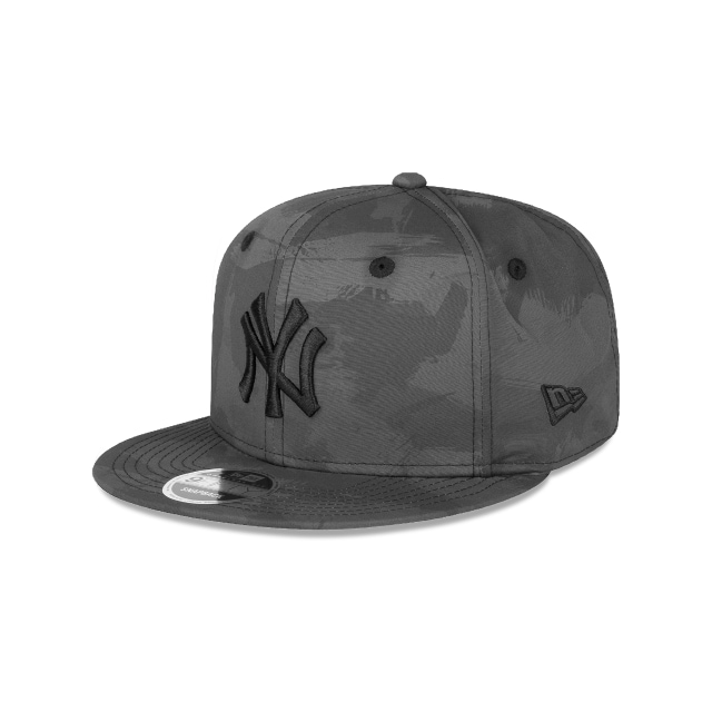 New York Yankees Camo Basics  9Fifty OF Snapback Vista izquierda tres cuartos