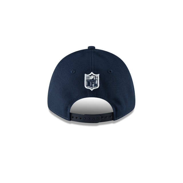 Los Angeles Rams NFL México Game 2018  9Forty Strapback Vista trasera