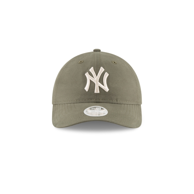 New York Yankees Nylon Packable Mujer 9Twenty Strapback Vista frontal