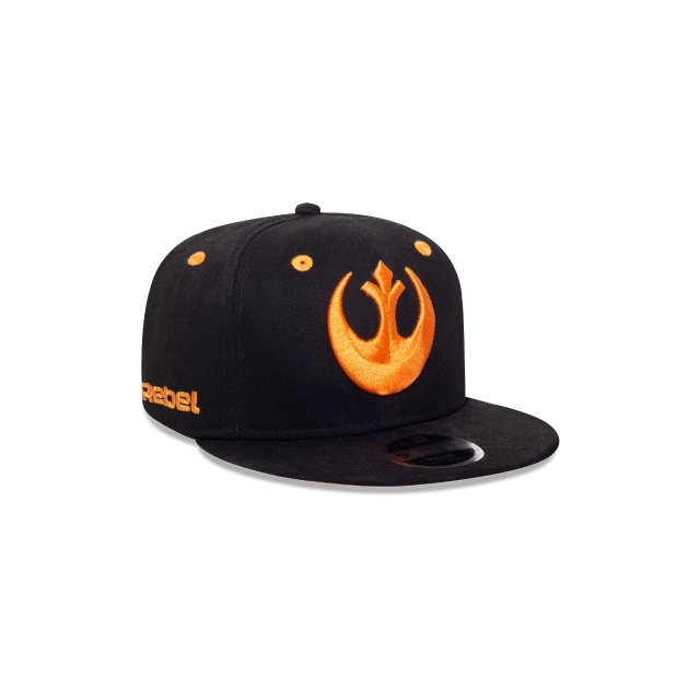 Rebel Logo Star Wars Niño 9Fifty OF Snapback Vista derecha tres cuartos