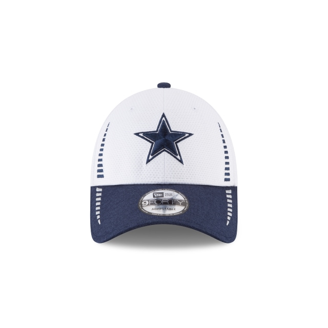 Dallas Cowboys Speed Tech 9Forty Strapback Vista frontal