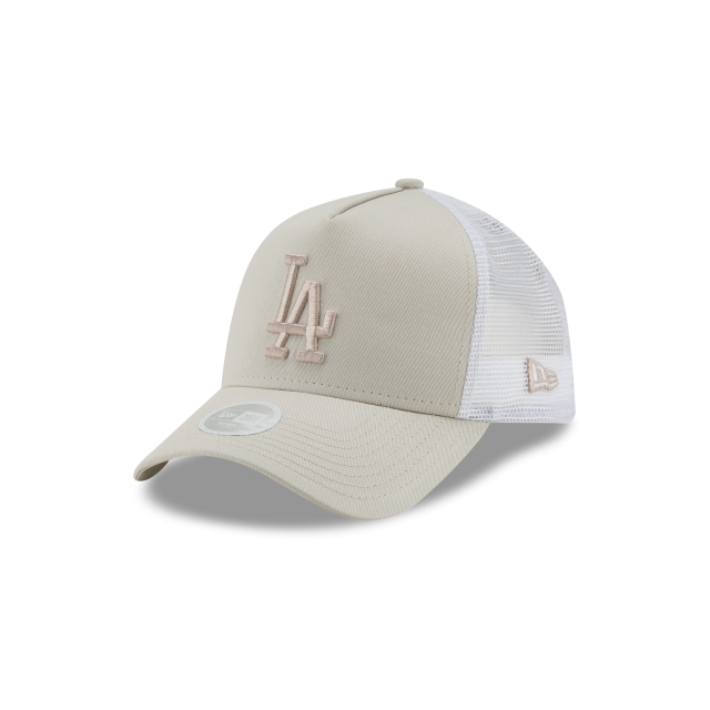 Los Angeles Dodgers Women League Essential  9forty Af Trucker Strapback | New Era Cap