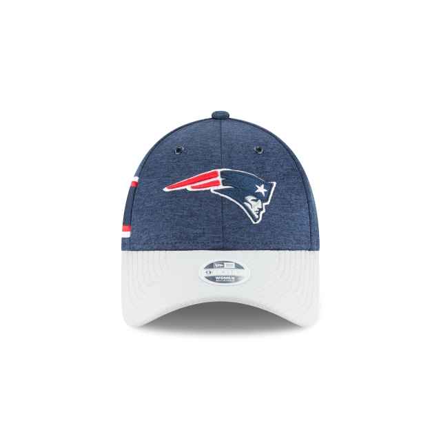 New England Patriots Nfl Sideline Defend 2018 Mujer 9forty Strapback | New England Patriots Caps | New Era Cap
