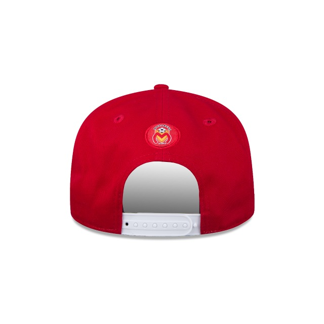 Monarcas Morelia Futbol Mexicano  9Fifty OF Snapback Vista trasera