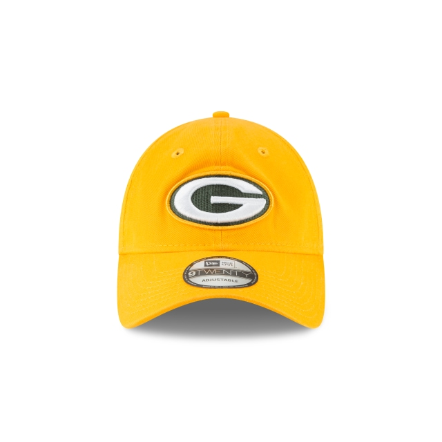 Green Bay Packers Core Classic 9Twenty Strapback Vista frontal
