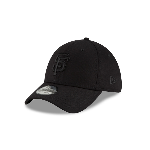 San Francisco Giants Black On Black  39thirty Elástica | New Era Cap