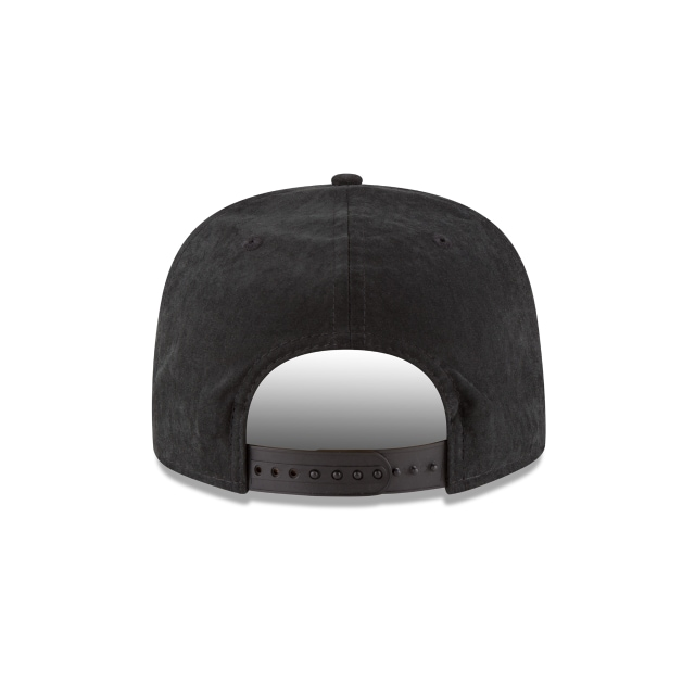 New York Yankees Men´s Leather  9Fifty Snapback Vista trasera