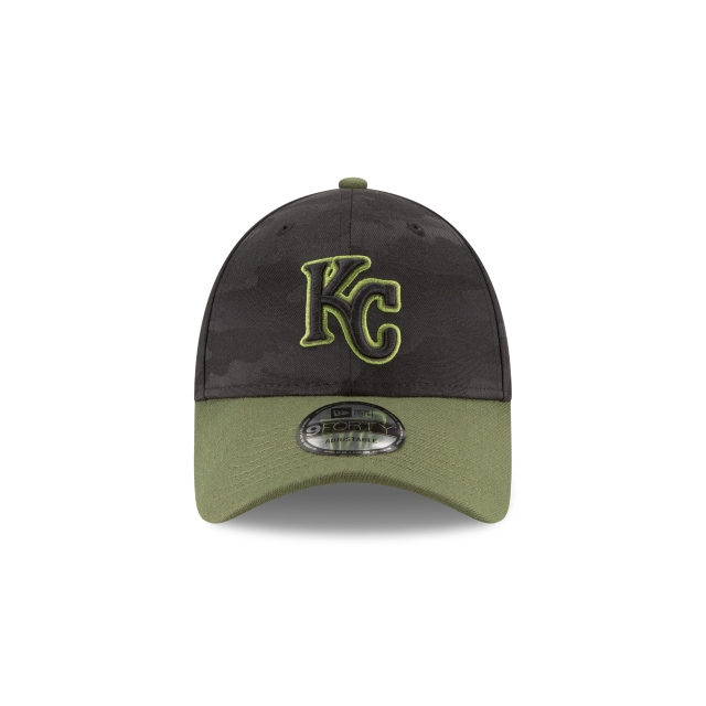 Kansas City Royals Memorial Day  9Forty Strapback Vista frontal