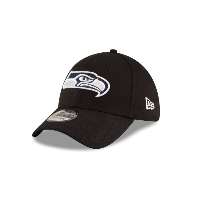 Seattle Seahawks Black Base  39thirty Elástica | New Era Cap