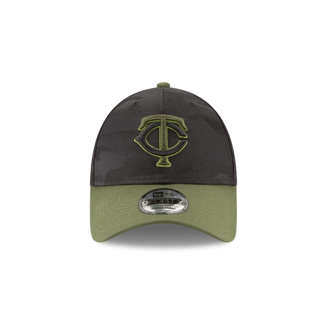 Minnesota Twins Memorial Day  9Forty Strapback Vista frontal
