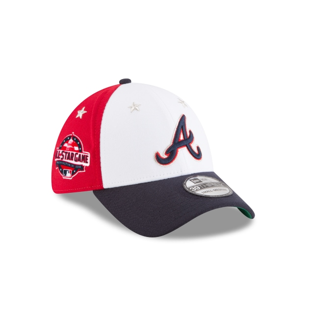 Atlanta Braves Mlb All-star Game 2018  39thirty Elástica | Atlanta Braves Caps | New Era Cap