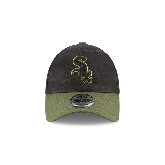 Chicago White Sox Memorial Day  9Forty Strapback Vista frontal