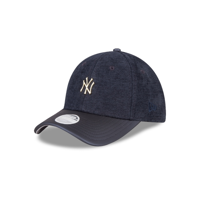 New York Yankees Texture Luxe Mujer 9forty Strapback | New Era Cap