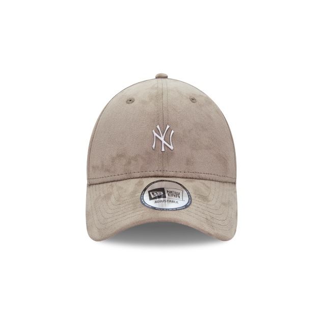 New York Yankees Suede Mini Metal  9Forty Strapback Vista frontal