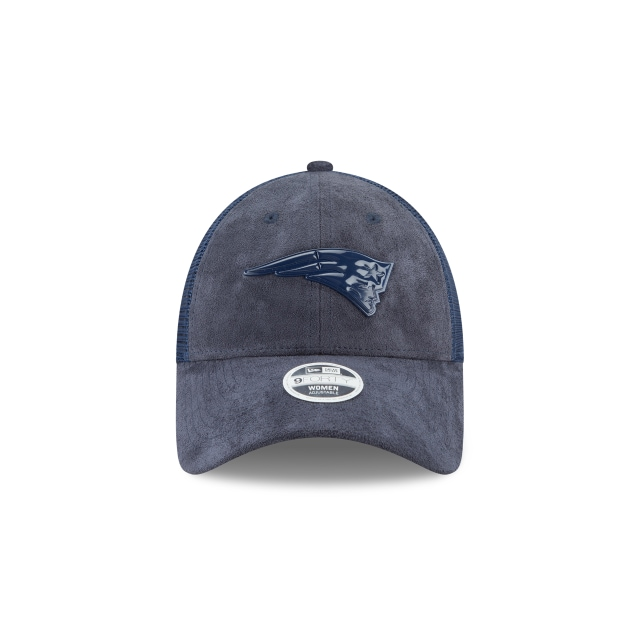 New England Patriots Toned Trucker Mujer 9forty Trucker Strapback | New England Patriots Caps | New Era Cap