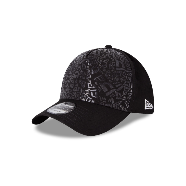 New Era Anti Athletic 9Forty AF Strapback Vista izquierda tres cuartos