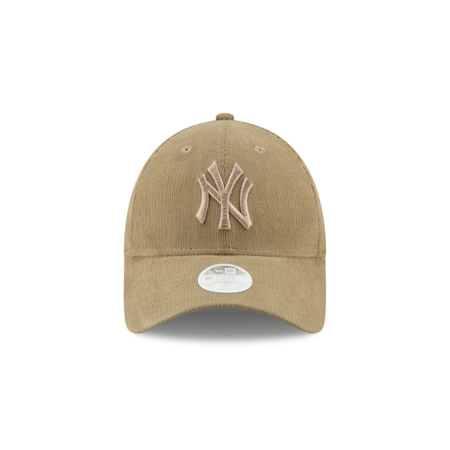 Gorra De New York Yankees Micro Cord De Mujer 9forty Strapback | New York Yankees Caps | New Era Cap