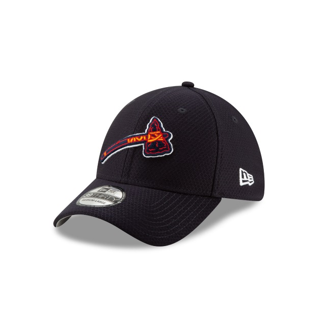 Atlanta Braves Mlb Batting Practice 2019  39thirty Elástica | New Era Cap