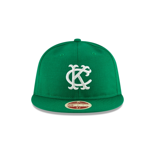 Kansas City Athletics Injection Pack Vintage Stripe  59Fifty RC Cerrada Vista frontal