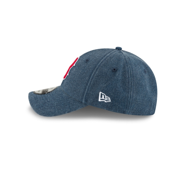 Boston Red Sox Rugged Heather  9Twenty Strapback Vista izquierda
