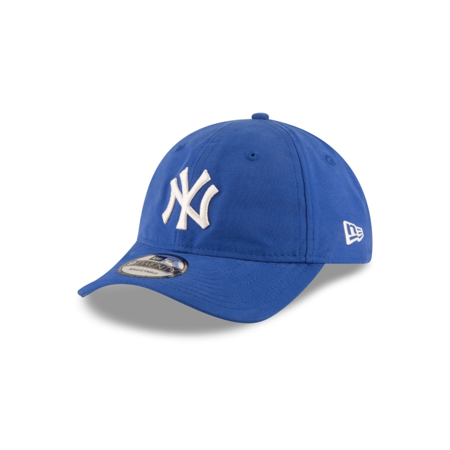 New York Yankees Nylon Packable  9Twenty Strapback Vista izquierda tres cuartos