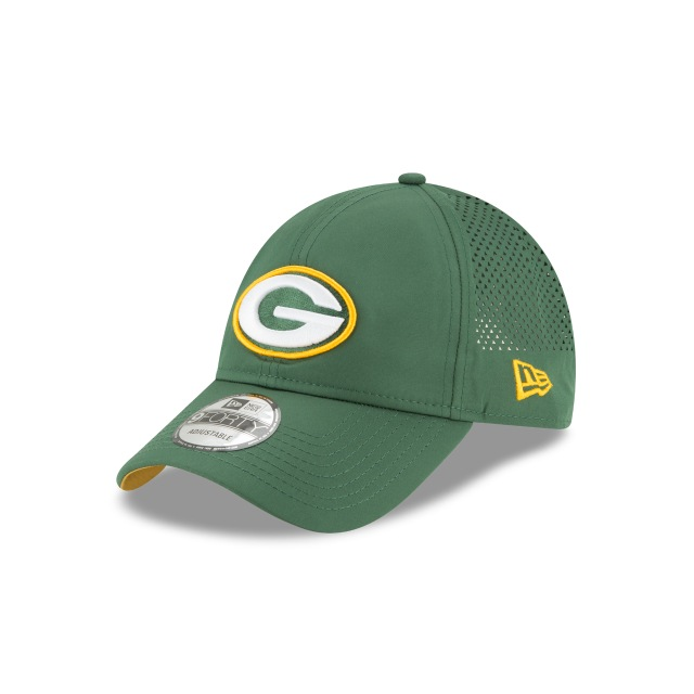Green Bay Packers Perf Pivot  9forty Strapback | New Era Cap