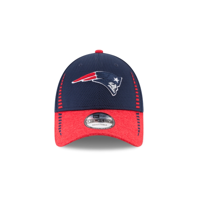 New England Patriots Speed Tech 9Forty Strapback Vista frontal