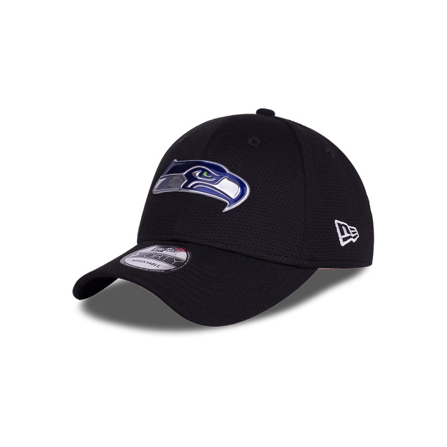 Seattle Seahawks Logo Pack  9forty Strapback | New Era Cap