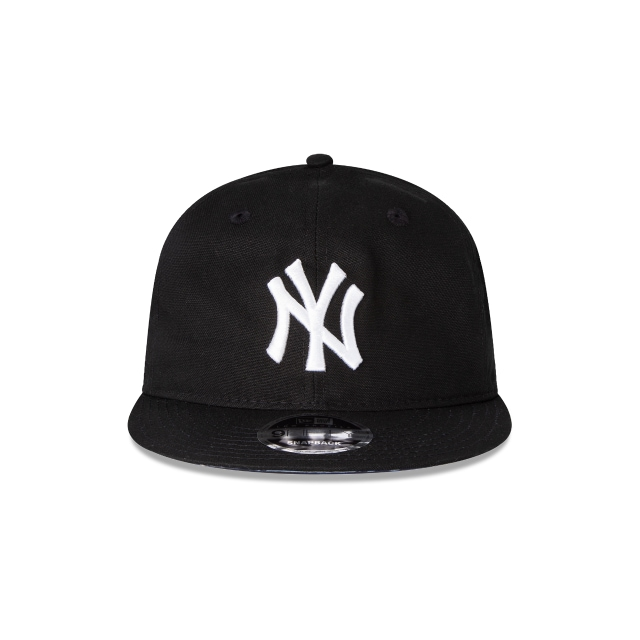 New York Yankees Black 25 9Fifty Snapback Vista frontal