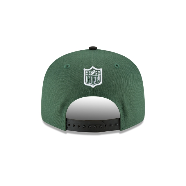 New York Jets Draft NFL 2018 9Fifty Snapback Vista trasera