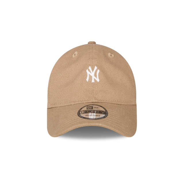 New York Yankees Canvas  9Forty Strapback Vista frontal