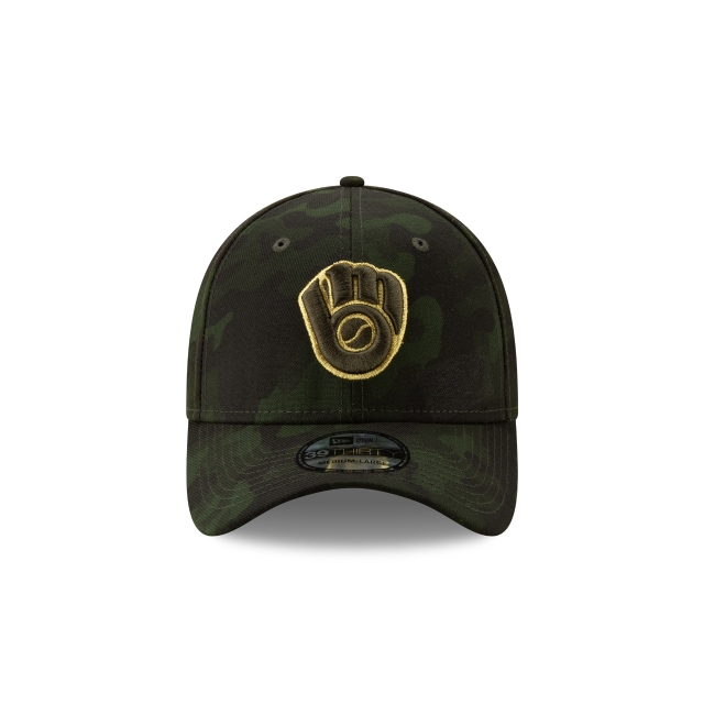 Milwaukee Brewers Mlb Armed Forces Day 2019  39thirty Elástica | Milwaukee Brewers Caps | New Era Cap