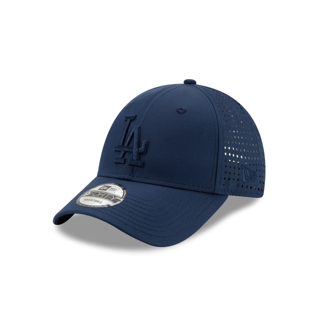 Los Angeles Dodgers Feather Perf  9forty Strapback | New Era Cap