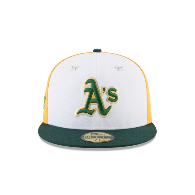 Oakland Athletics MLB All-Star Game 2018 Niño 59Fifty Cerrada Vista frontal